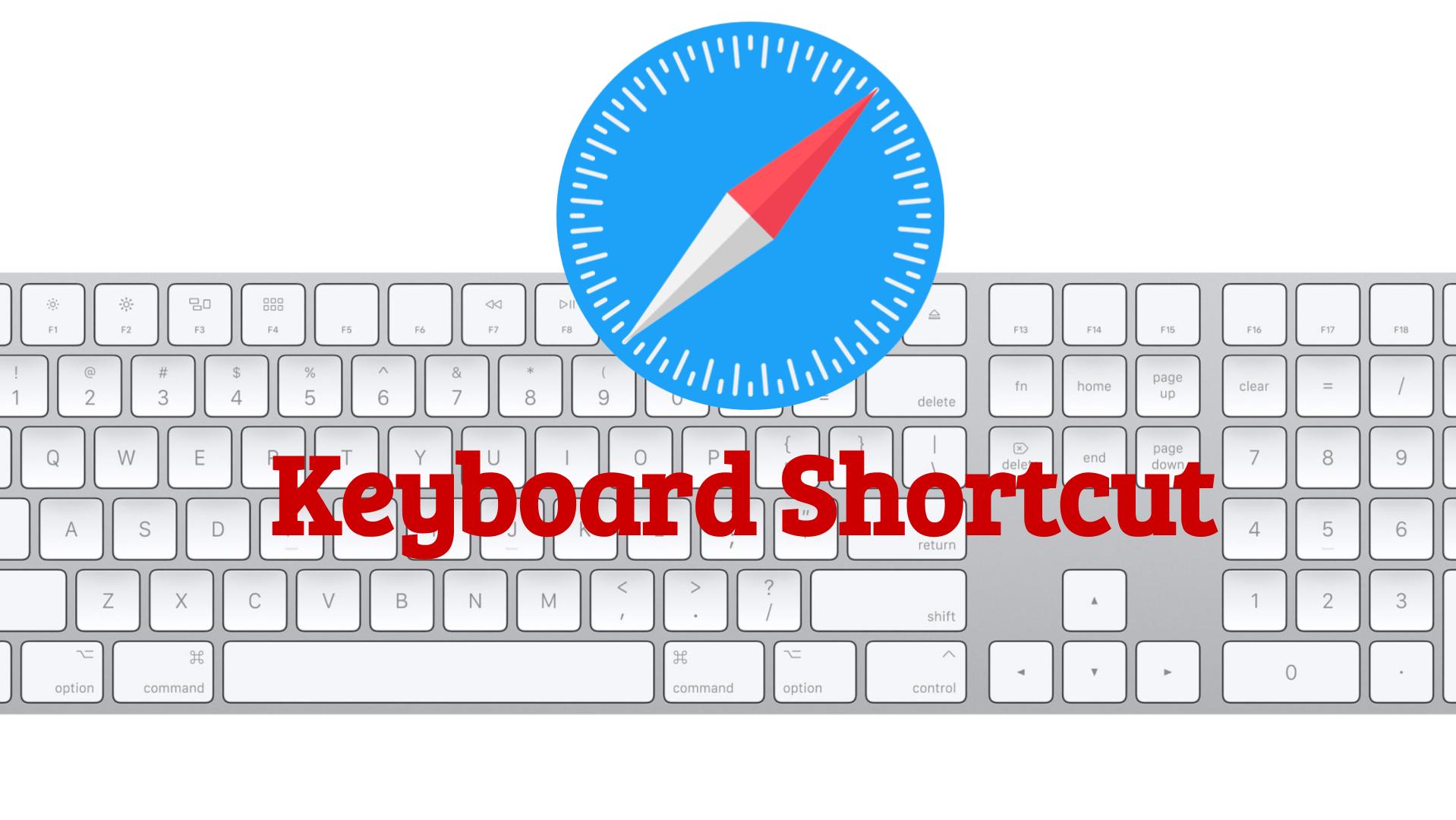 Apple Safari Keyboard Shortcuts
