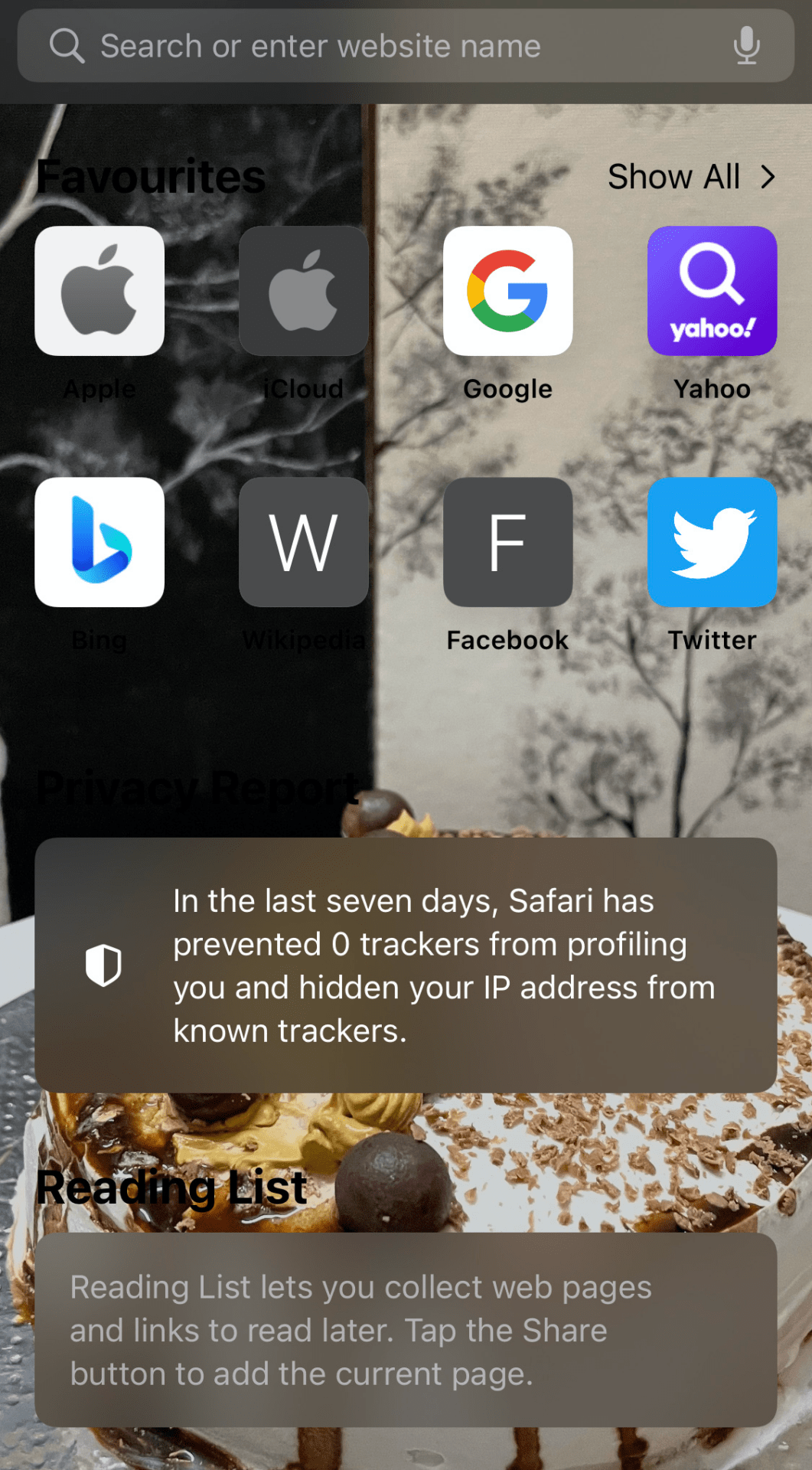 Background Image Change in Safari iOS