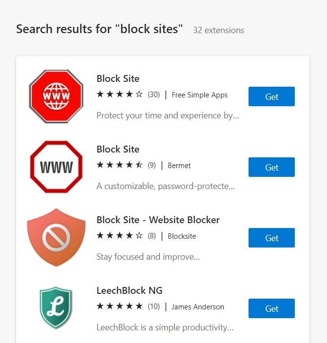 Block Site Edge Extension