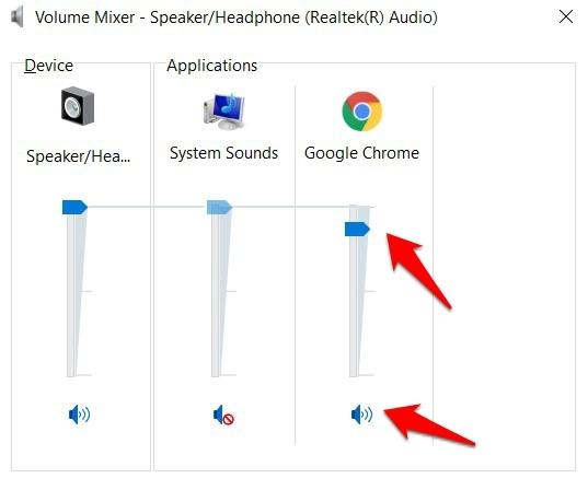 Chrome Volume Mixer