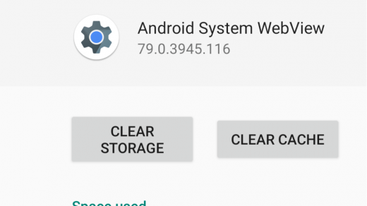 Clear Cache and Clear Storage from Android System WebView