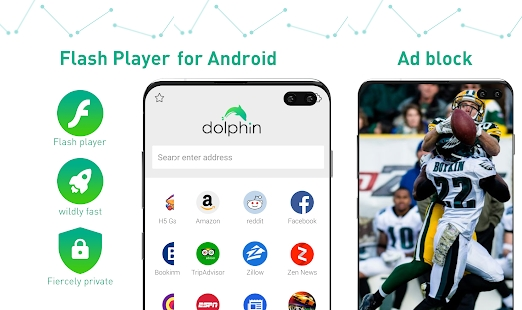 Dolphin Browser for Android Features