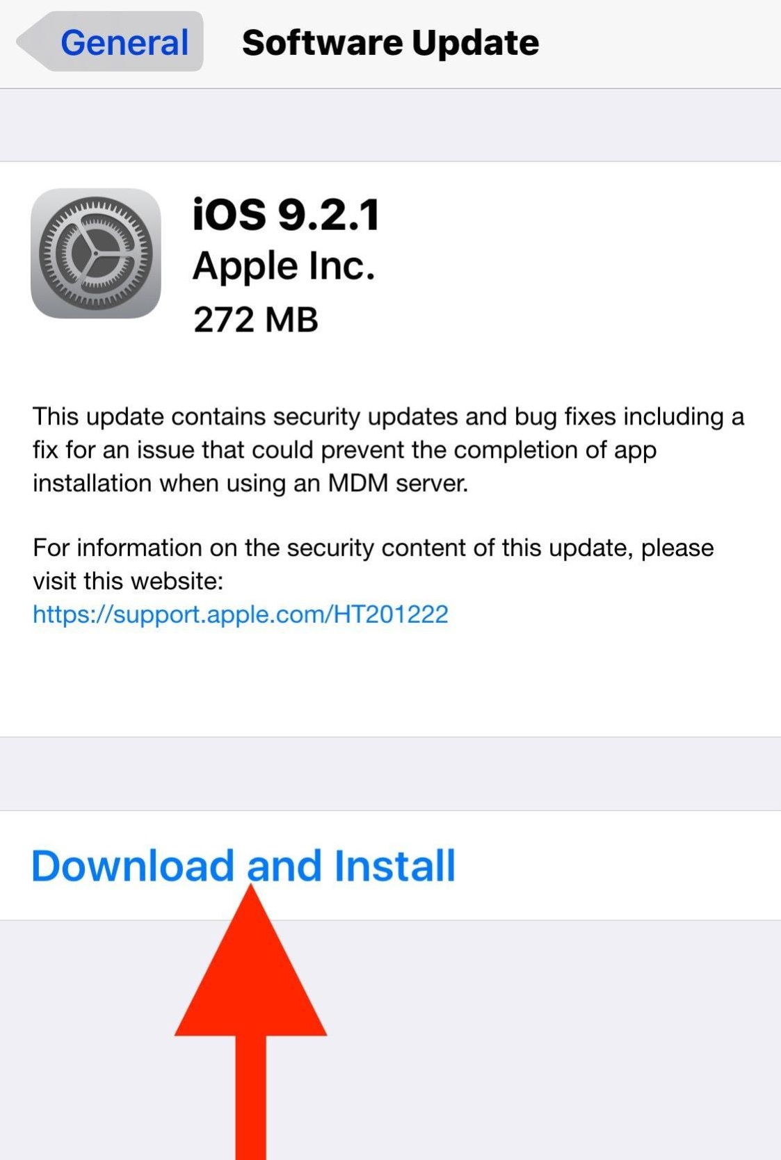 Download and Install iOS updates on iPhone