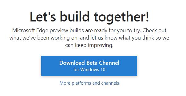 Download Microsoft Edge (Chromium) for Windows 10