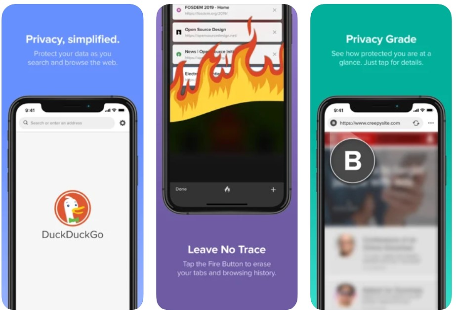 DuckDuckGo Privacy Browser for iPhone
