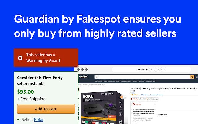 Fakespot Discount Chrome Extension