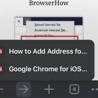Forward Navigation and Page History in Chrome iPhone