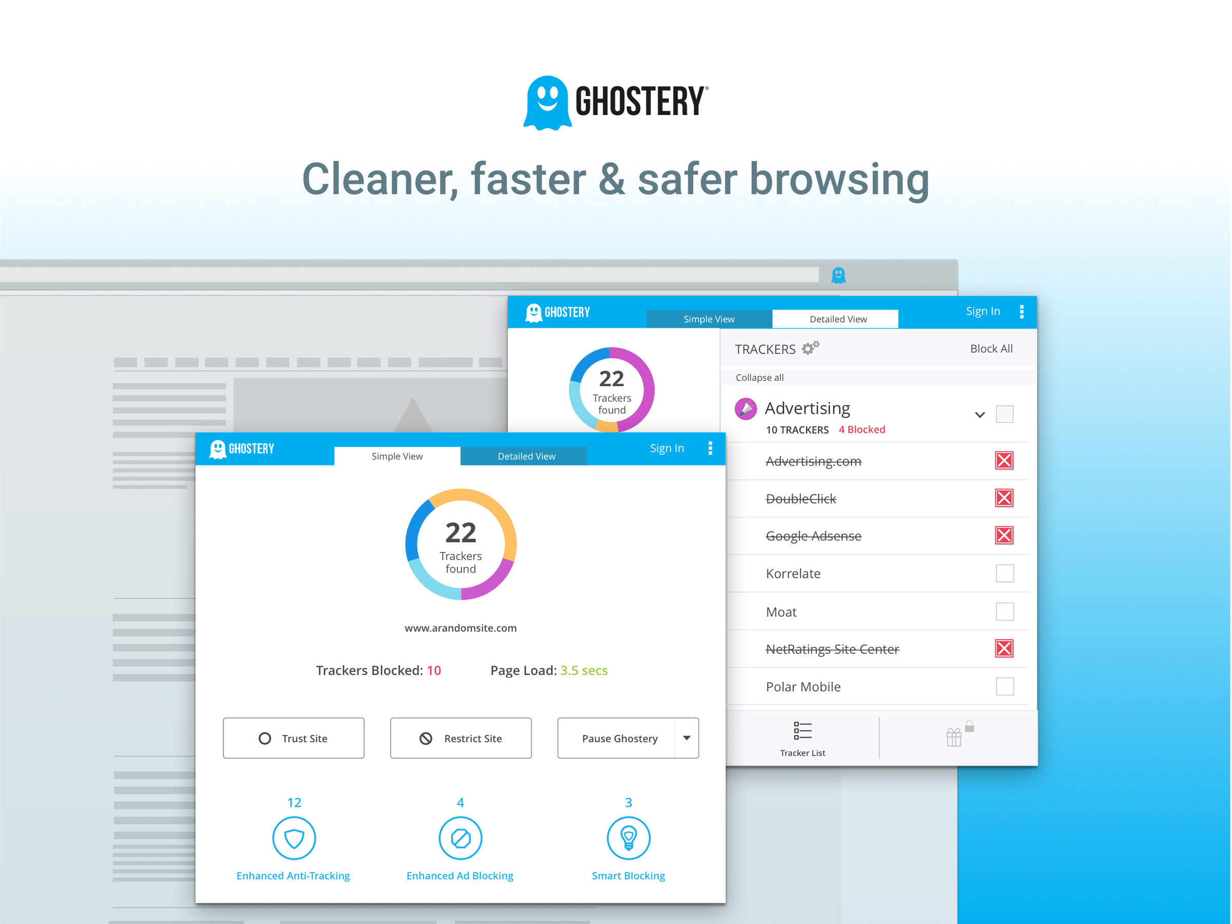 Ghostery – Privacy Ad Blocker