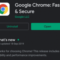 Google Chrome on Play Store