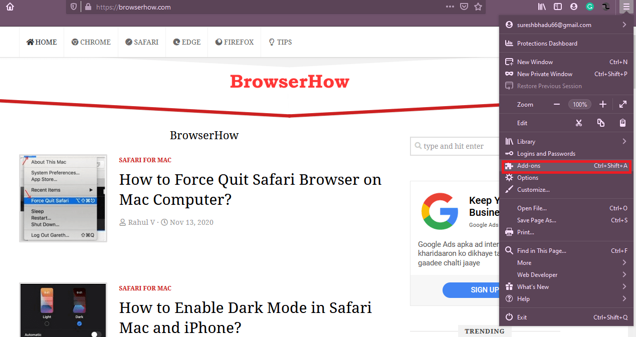 How To Add Theme To Firefox Browser-1
