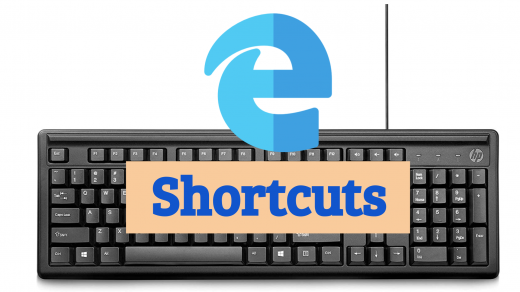 Microsoft Edge Keyboard Shortcuts