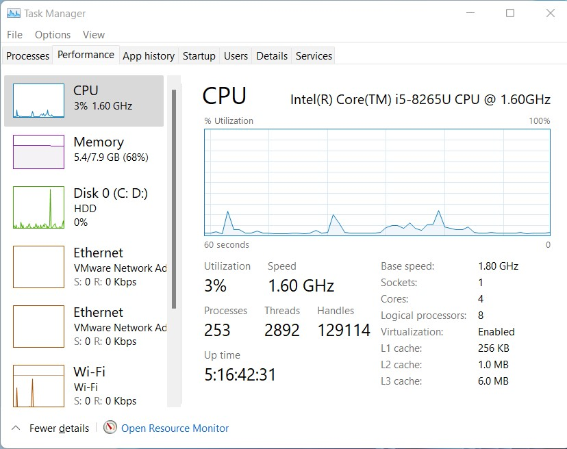 Microsoft Edge Performance with inPrivate tab running
