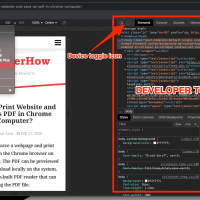 Mobile Site view mode in Google Chrome on Computer