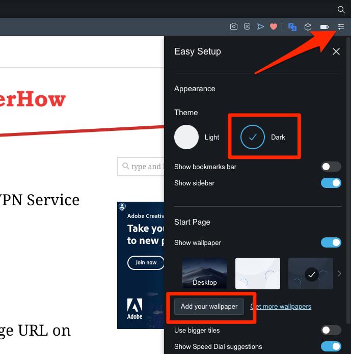 Opera Browser Easy Setup and Customization