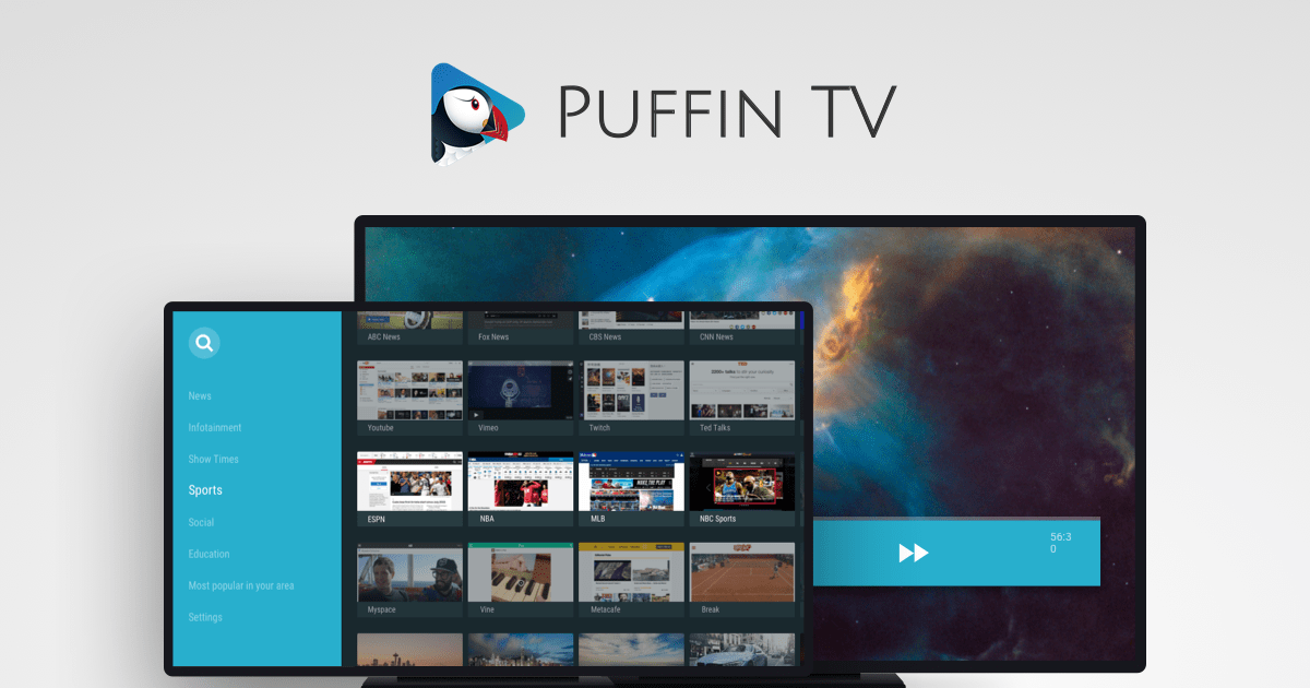 Puffin TV Web Browser
