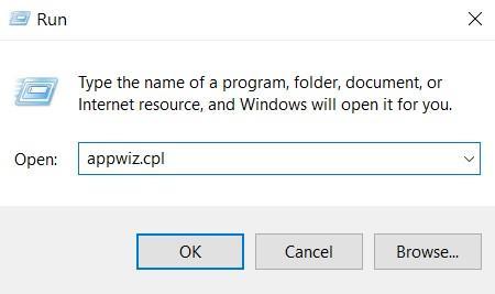 Run Application Wizard in Windows command