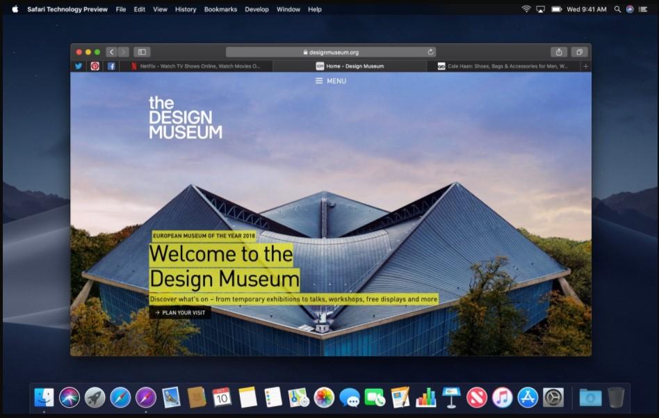 Safari Technical Preview Browser installation
