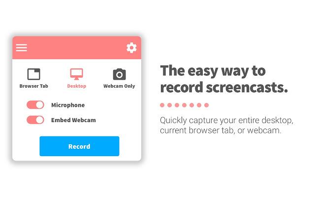 Screencastify Screen Cast Extension