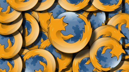 Stack of Firefox browser logo