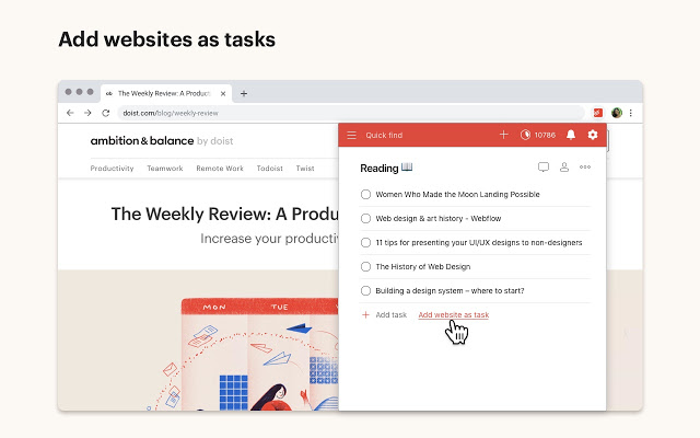 Todoist Task Manager Extension