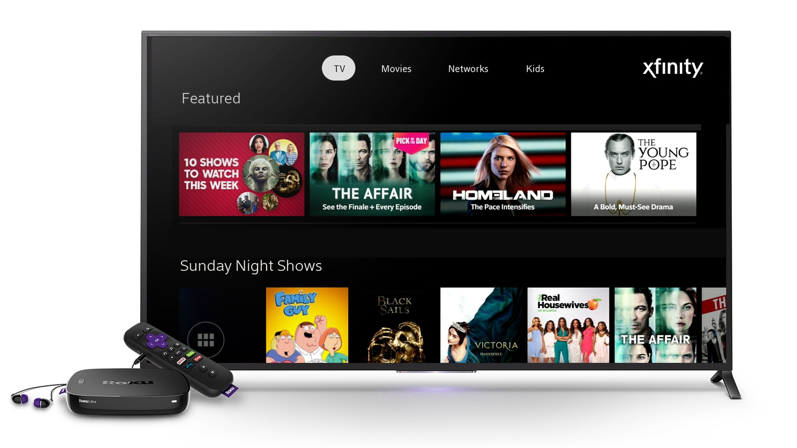 Xfinity Browser for Roku TV