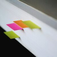 color bookmark tags tab feat