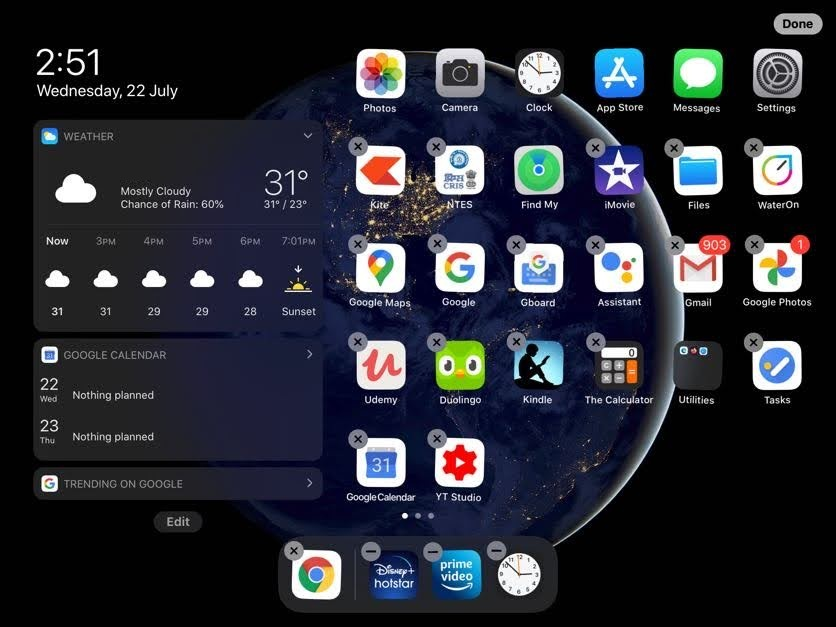iOS Apps Jiggle