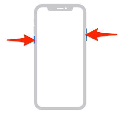 iPhone Switch Off or Power Buttons combination
