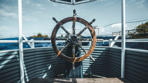 ship navigation wheel